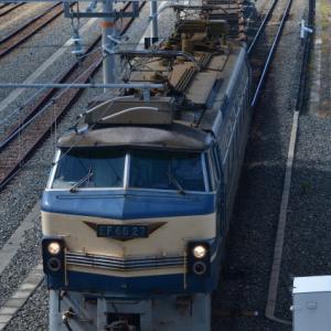 吹田の人気の機関車を追いかけて