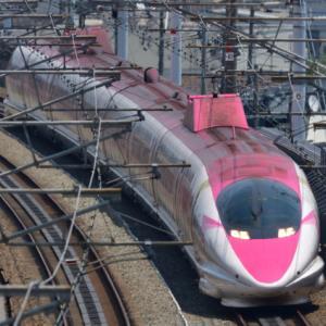 久しぶりにピンク新幹線