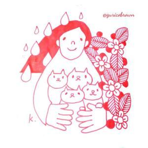 【絵】大切なネコちゃんのイラストと今まで