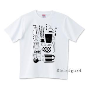 【T】カップ12イラストTシャツ