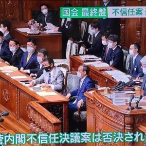 内閣不信任決議案