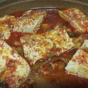 白身魚と豆腐の煮物 チョリム