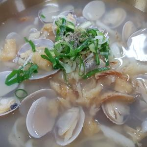 소공칼국수 アサリとたらのスープが美味しいカルグクス