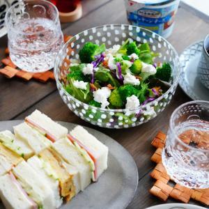マラソンポチレポ!&紫パラティッシが使いたくなる食卓。