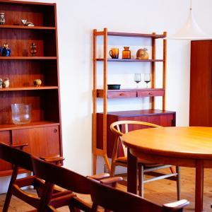 癒しの北欧インテリアショップ&出会えた北欧家具。
