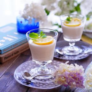 ポチレポ&混ぜて冷やすだけの簡単レモンムース。