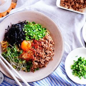 お得な福袋~!!&お休み中のお昼ごはんに♪パッと出来る!簡単おうち「台湾まぜそば」