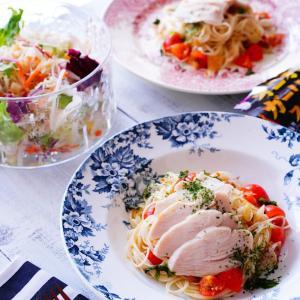 コンビニでゲット!時短料理♪サラダチキンにかけるだけで美味しいごはん。