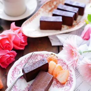 バレンタインに♪チーズもチョコも好きな方へ!簡単に出来るテリーヌ。