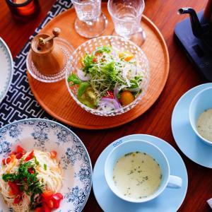 簡単!夏にぴったり素麺アレンジ&キラキラのうつわたち♪