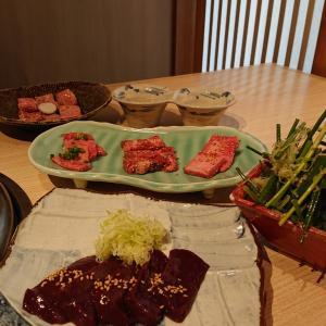 誕生日の日の焼肉ディナー♪