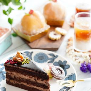 桃のケーキとイイホシさんの器が!&最近復活した糖質オフサプリ♪