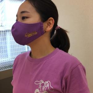 ふりふり冷感マスクの製作は〜♪