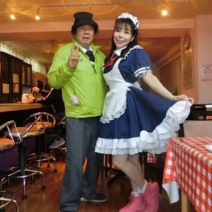 コスプレメイド喫茶・緑子さんは、似合います。