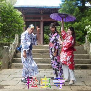 松虫姫、奈良から関東へ・光り輝く金の仏像を見て、病を治す