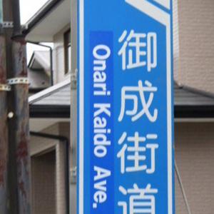 御成街道を行く・徳川家康、秀忠、家光の鷹狩に通った道