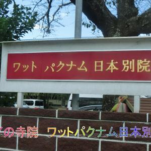 タイの寺院・ワットパクナム日本別院・成田山新勝寺参道でウナギを食べる