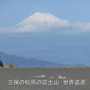 三保の松原・富士山・世界遺産・羽衣の松・羽衣を思い出す