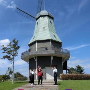 霞ヶ浦総合公園のオランダ風車・景色が良い・名物ウナギを食べる