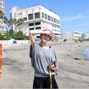 ピン子さんの勝浦訪問・海・海岸・鏡忍寺・夏の思い出です。