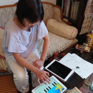iPadレッスン活用法 広島から来られました。