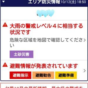 台風19号緊急速報ピロロン📲⚠