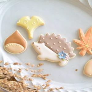ほっこりかわいい♡秋のアイシングクッキー【ひまわりクラス】