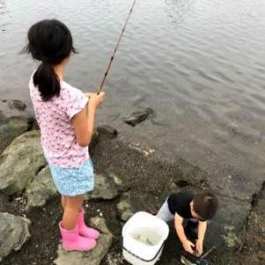 20200628 近所でハゼ釣り