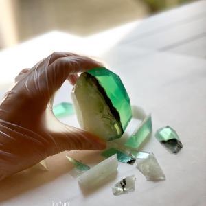 宝石石鹸のカッティング法