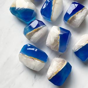 サファイアの宝石石鹸