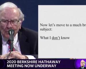 2020年バークシャー株主総会(19)市場に臨む際の注意