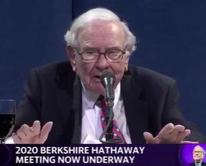 2020年バークシャー株主総会(28)インデックス・ファンドを買ったら、あとは忘れよう