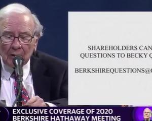 2020年バークシャー株主総会(42)株式市場予測に基づいた売却ではない