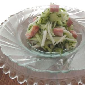 「あらびきミートローフ」☆生野菜さっぱりサラダ♪