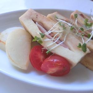 高野豆腐とベーコンのステーキ風☆「だしとスパイスの魔法」シリーズ