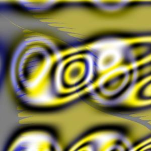 黄サンシェイド模様硝子越陽光