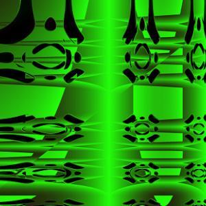 熱溶孔緑半透明樹脂板