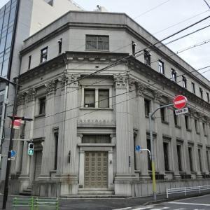 旧川崎銀行富沢町支店(ハリオガラス本店)