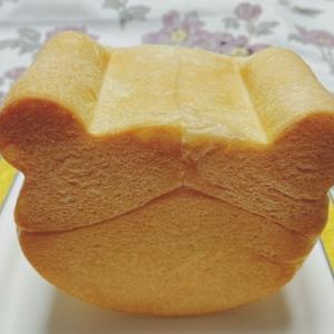 板かんてんで作るオレンジゼリー クマさん食パン
