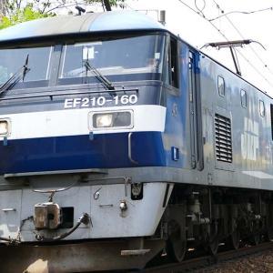 稲沢機関区に向かう途中でEF210が!