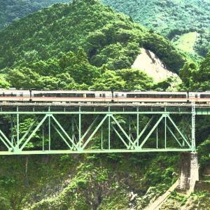 三瀬谷ダムから紀勢本線を狙う!