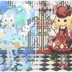 ニコッとタウン 2019年9月(3) 薔薇のステンドグラス ~Rose Stained Glass~