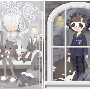 ニコッとタウン 2019年10月(3) ぬいぐるみソファ ~Arch Window~