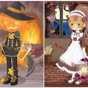 ニコッとタウン 2019年10月(6) 南瓜頭の魔法使い ~Pumpkin Wizard~