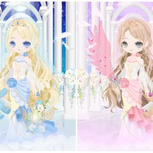 ニコッとタウン 2020年6月(9) 天の羽のドレス ~Heavenly Feathers~