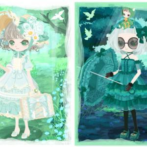 ニコッとタウン 2020年8月(8) ゴスロリの翡翠の森 ~Gothic Lolita Forest~