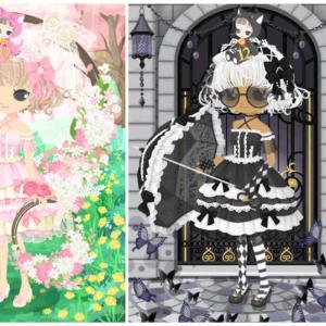 ニコッとタウン 2020年8月(7) ゴスロリの黒紫の城 ~Gothic Lolita Castle~