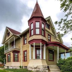 アメリカの古いオシャレな家