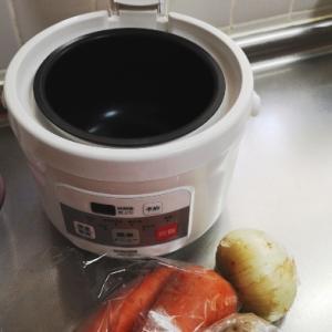 炊飯器で煮物料理にチャレンジ
