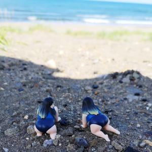 夏の終わりの小樽ドリームビーチ